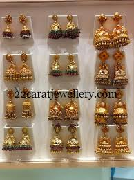 kerala style jhumka earrings fashion jhumkas are back jewellery designs