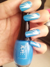 23 nail designs with the color blue easy nail blue color ideas