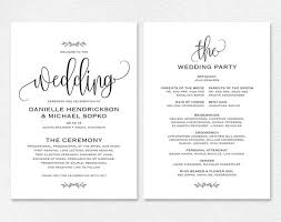 Printable Wedding Programs Free Best 25 Free Wedding Invitation Templates Ideas On Pinterest