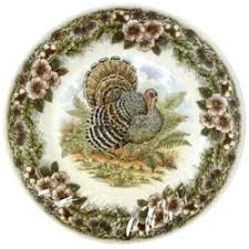 discontinued churchill china thanksgiving turkey dinnerware