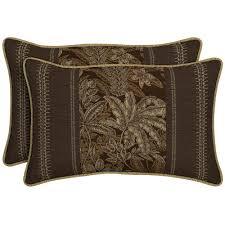 Brown Jordan Aegean by Brown Jordan Marquis Congo Outdoor Throw Pillow 2 Pack M12110 Tp