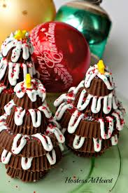 peanut butter cup trees hostess at heart