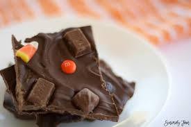 halloween candy chocolate bark sincerely jean
