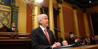 the things gov rick snyder did not say in the state of the state