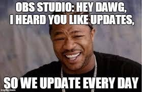 Twitch Memes - obs studio imgflip