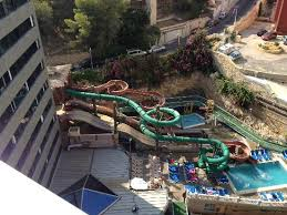 Magic Rock Gardens Hotel Benidorm View Of Slides From Chill Zone Picture Of Magic Aqua Rock