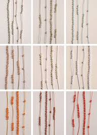 beads knots necklace images Gemstones knots necklaces purl soho jpg