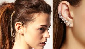 how do you wear ear cuffs simple ways to wear ear cuffs to grab the attention