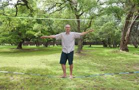 backyard slacklining you don u0027t have to be in the circus to enjoy