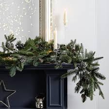 christmas wreaths u0026 garlands the white company uk