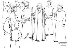 Coloring Pages Moses Kills The Egyptian Overseer Christianity Bible Coloring Pages Moses