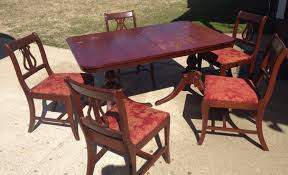 Thomasville Cherry Dining Room Set by Chair Remarkable Vintage Thomasville Duncan Phyfe Style Dining