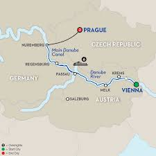 Map Of Germany And Austria by Austria River Cruises Avalon Waterways
