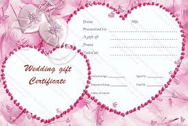 printable gift certificate template gift certificate templates