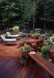 41 best deck landscaping ideas images on pinterest deck