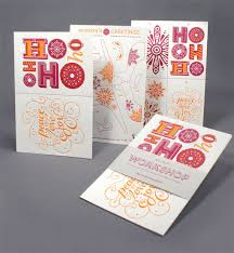 Graphic Design Holiday Cards Birdsong Gregory Holiday Card Design Work Life