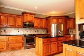 kitchen decoration design ideas using black granite kitchen