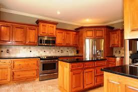 Light Cherry Kitchen Cabinets Kitchen Decoration Design Ideas Using Black Granite Kitchen