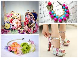 floral accessories beat the heat going floral look book 2015 wardrobes