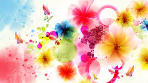 girly computer backgrounds abstract flowers wallpapers group 79