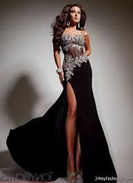 All Black Prom Dress Silver And Black Prom Dresses 2016 2017 B2b Fashion