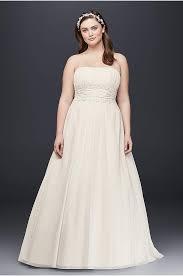 wedding dresses with purple detail plus size wedding dresses bridal gowns david s bridal