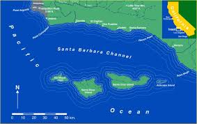 Santa Barbara California Map Main Page