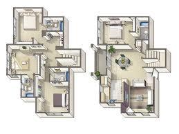 Townhouse House Plans 4 Bedroom Townhouse Floor Plans Google Search Floor Plans