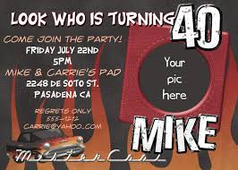 free 40th birthday party invitation templates redwolfblog com