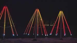 inaugural lights of the northwoods display opens in rhinelander