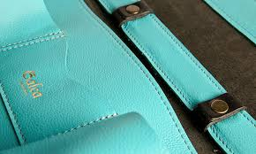 designer laptoptasche farbenfrohe ledertasche heimatwerke de