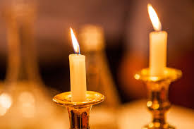 shabat candles lit shabbat candles jpg