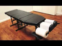 best portable chiropractic table arena 180 portable chiropractic adjustment table youtube