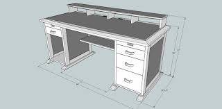 Desk Plans by Decor Of Computer Desk Plans With 1000 Ideas About Desk Plans On