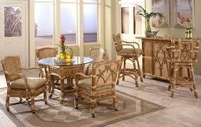 Bamboo Dining Table Set Bamboo Dining Furniture Kozy Kingdom
