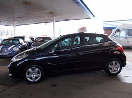 peugeot 207 sedan used black peugeot 207 for sale bedfordshire