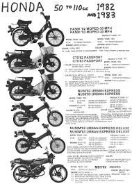 honda parts myrons mopeds