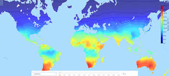 Wind Speed Map Climate Maps Ecoclimax