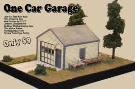 one car garage onecargarage 9 00 railroad kits the ho
