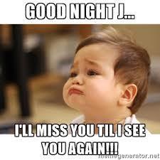 Goodnite Meme - good night baby meme images hilarious good night meme pinterest