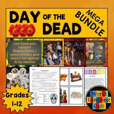 day of the dead día de los muertos spanish lesson plans and ideas
