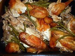 comment cuisiner les haricots verts recette de poulet roti haricots vert et pommes de terre