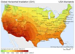 Interactive Map Of Usa by Download Free Solar Resource Maps Solargis