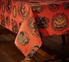 collection of halloween tablecloth vintage halloween crepe paper
