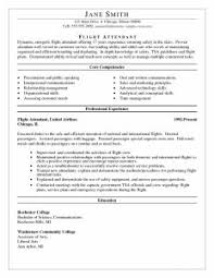 Flight Attendant Resume Objectives Examples Of Resumes Chicago Essay Outline Style Sample With