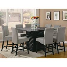 Amazoncom Stanton Contemporary Pc Counter Height Dining Set - Counter height kitchen table and chair sets