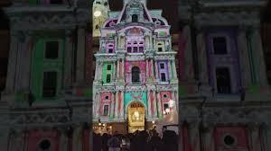 philadelphia light show 2017 philadelphia light show city hall 2017 youtube