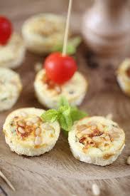 recette canap ap ritif facile petits flans à la menthe pignons de pin et chavroux chefnini