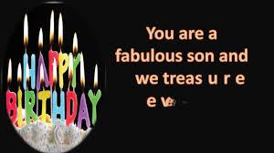 happy birthday wishes for son birthday greetings card birthday