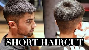 men u0027s haircut short hairstyle trend 2017 youtube